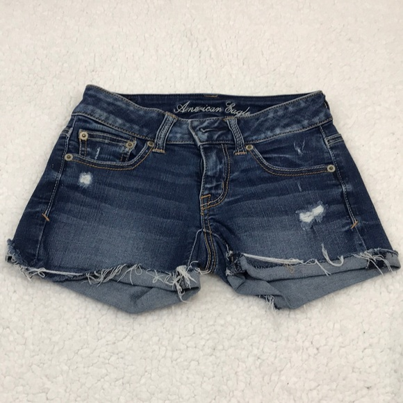 American Eagle Outfitters Pants - American Eagle 🦅 Super Stretch Jean Shorts X1